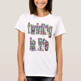 Twirling Is Life Ladies Baby Doll T-shirt
