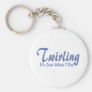 Twirling Keychain