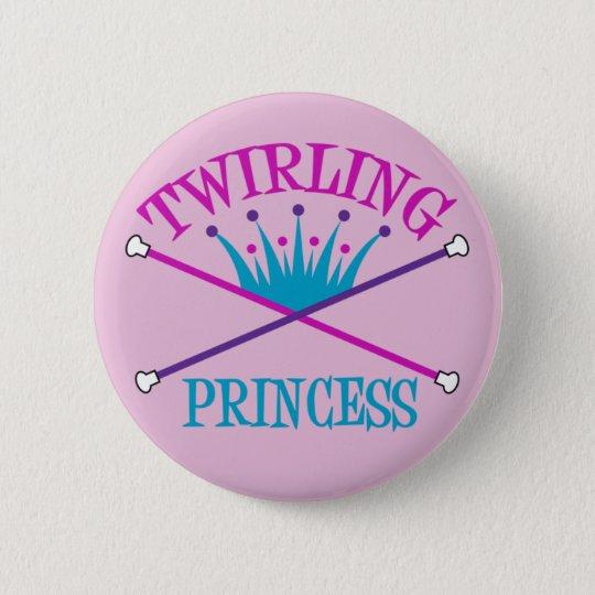 Twirling Princess Button