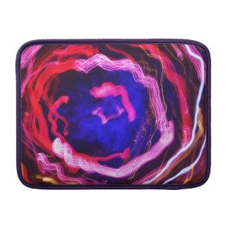 Twirling Swirl of light painting MacBook Air Sleeve