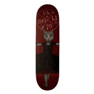 Twirling, Twirling, Couture Kitty Skateboard Deck