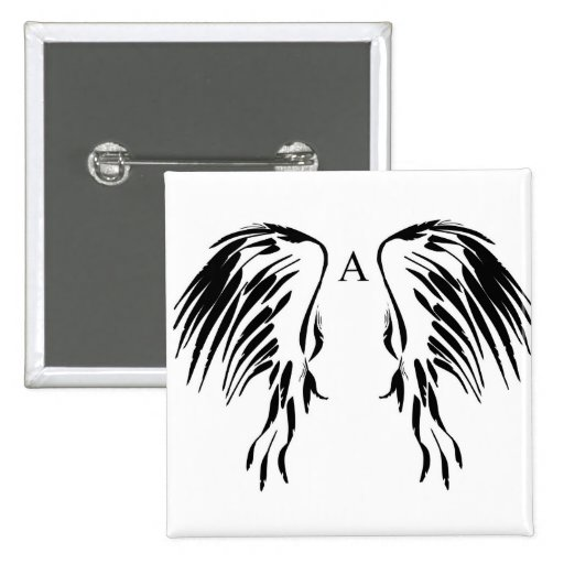 Twirls and swirls Angel wings items Pins