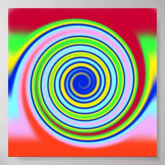 Twirls Poster