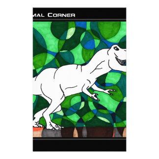 TWIS Blair's Animal Corner T Rex Art Stationery