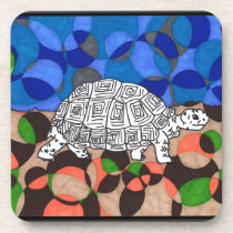 TWIS Blair's Animal Corner Tortoise Beverage Coaster