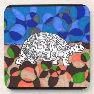 TWIS Blair's Animal Corner Tortoise Beverage Coaster