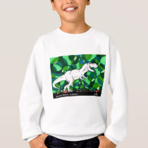 TWIS Kid's Sweatshirt: Blair's Animal Corner T Rex Sweatshirt