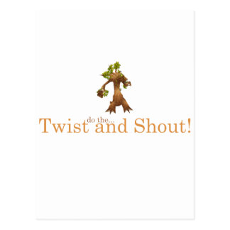 Twist and Shout! Postcard