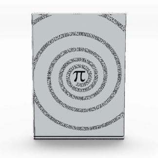Twist for Pi Click Customize to Change Grey Color Acrylic Award