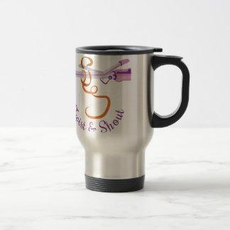 Twist & Shout 15 Oz Stainless Steel Travel Mug