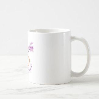 Twist & Shout Classic White Coffee Mug