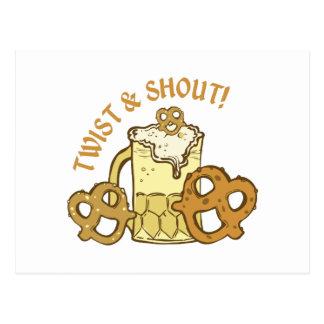 Twist & Shout Postcards