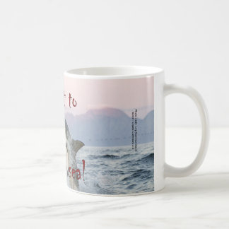 Twist to Break Seal - Shark Mug