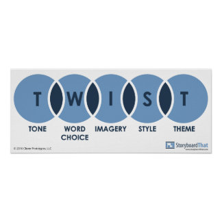 Twist (Tone, Word Choice, Imagery, Style, Theme) Poster