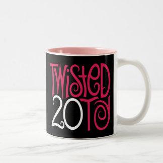 Twisted 20ty! pink Mug