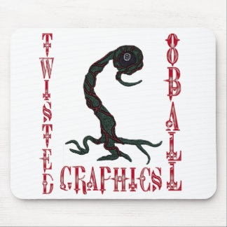 TWISTED 8BALL GRAPHICS MOUSE PAD