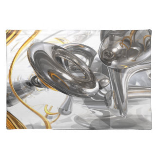 Twisted Abstract Place Mat
