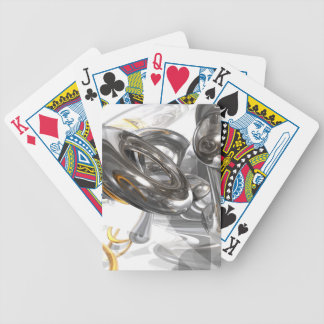 Twisted Abstract Poker Cards
