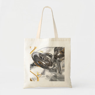 Twisted Abstract Tote Bag
