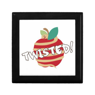 Twisted Apple Trinket Boxes