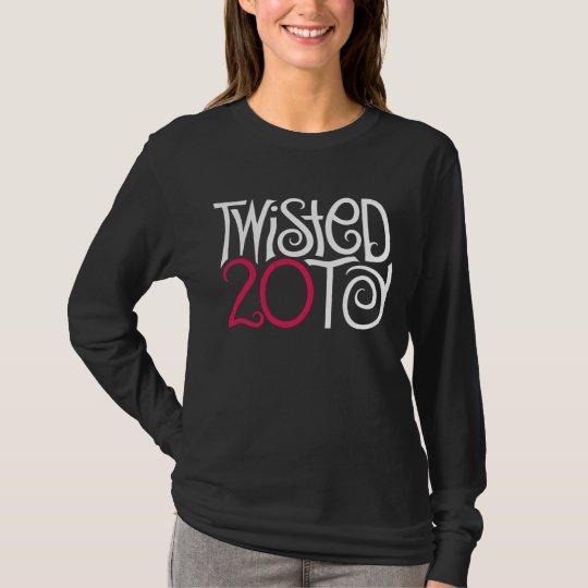 Twisted at 20 Black T-shirt