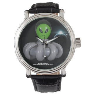 Twisted Balloon Alien in Spaceship Watch