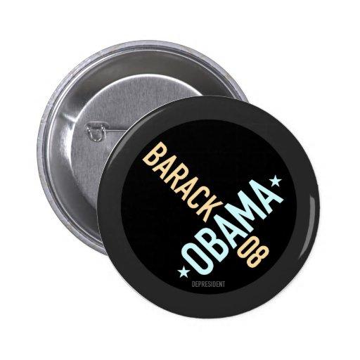 Twisted Barack Obama 08 Button