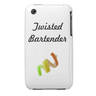 Twisted Bartender iPhone 3 Case-Mate Case