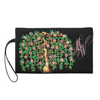 Twisted Blooming Weeping Cherry Tree Wristlet