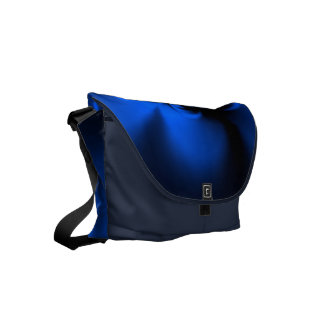 Twisted Blue Small Messenger Bag