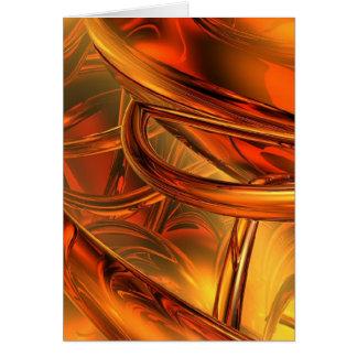 Twisted Brass Card