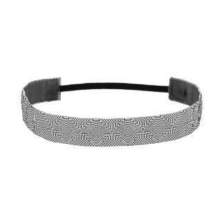 Twisted Checkers Athletic Headband