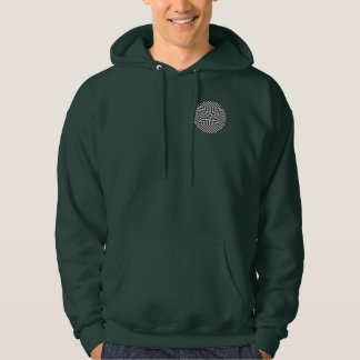 Twisted Checkers by Kenneth Yoncich Hoodie