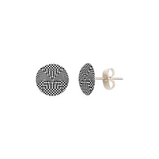 Twisted Checkers Earrings