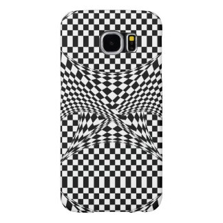 Twisted Checkers Samsung Galaxy S6 Cases