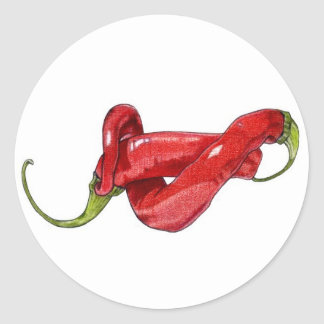 Twisted Chilies Sticker