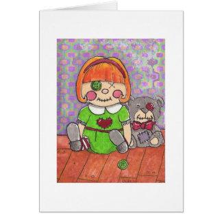 Twisted Christmas-Misfit Dolls Card