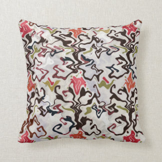 """Twisted Co-ordinate 1"" by Cr Sinclair Throw Pillow"