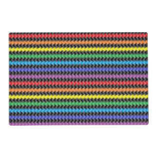 Twisted Colors Laminated Placemat