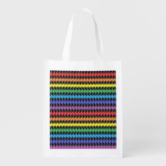 Twisted Colors Reusable Grocery Bag
