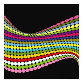 Twisted Dots Invitation