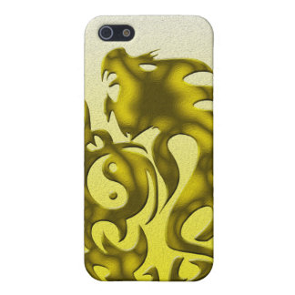 Twisted Dragon gold iPhone SE/5/5s Case