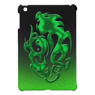 Twisted Dragon green iPad Mini Covers