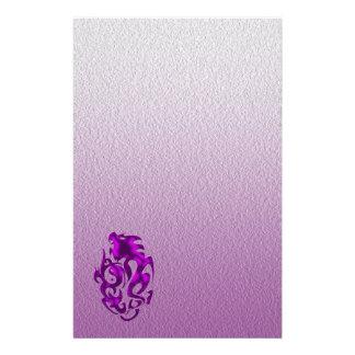 Twisted Dragon purple Stationery