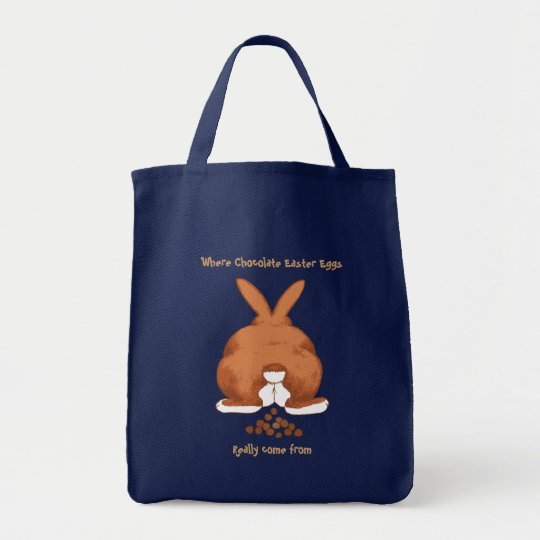 Twisted Easter Grocery Tote