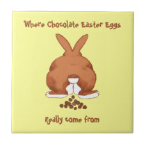 Twisted Easter Rabbit Tile