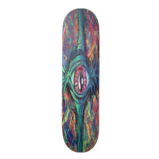 Twisted Eye Oil Painting Skateboard Deck