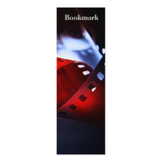 Twisted Film Bookmark Double-Sided Mini Business Cards (Pack Of 20)