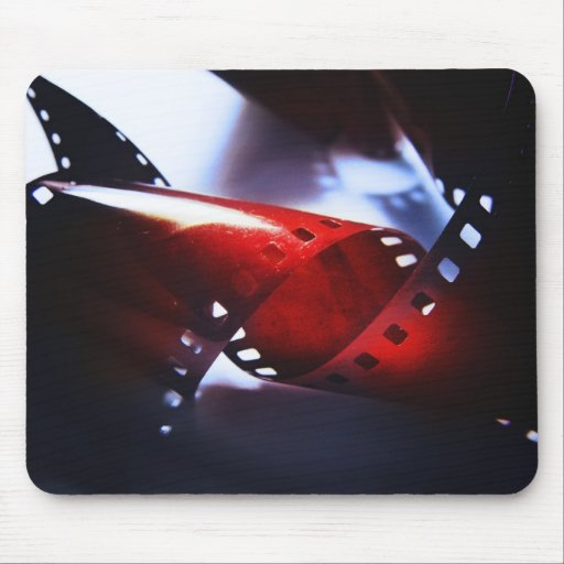 Twisted Film Mouse Pad