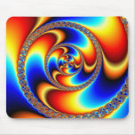 Twisted - Fractal Mousepad